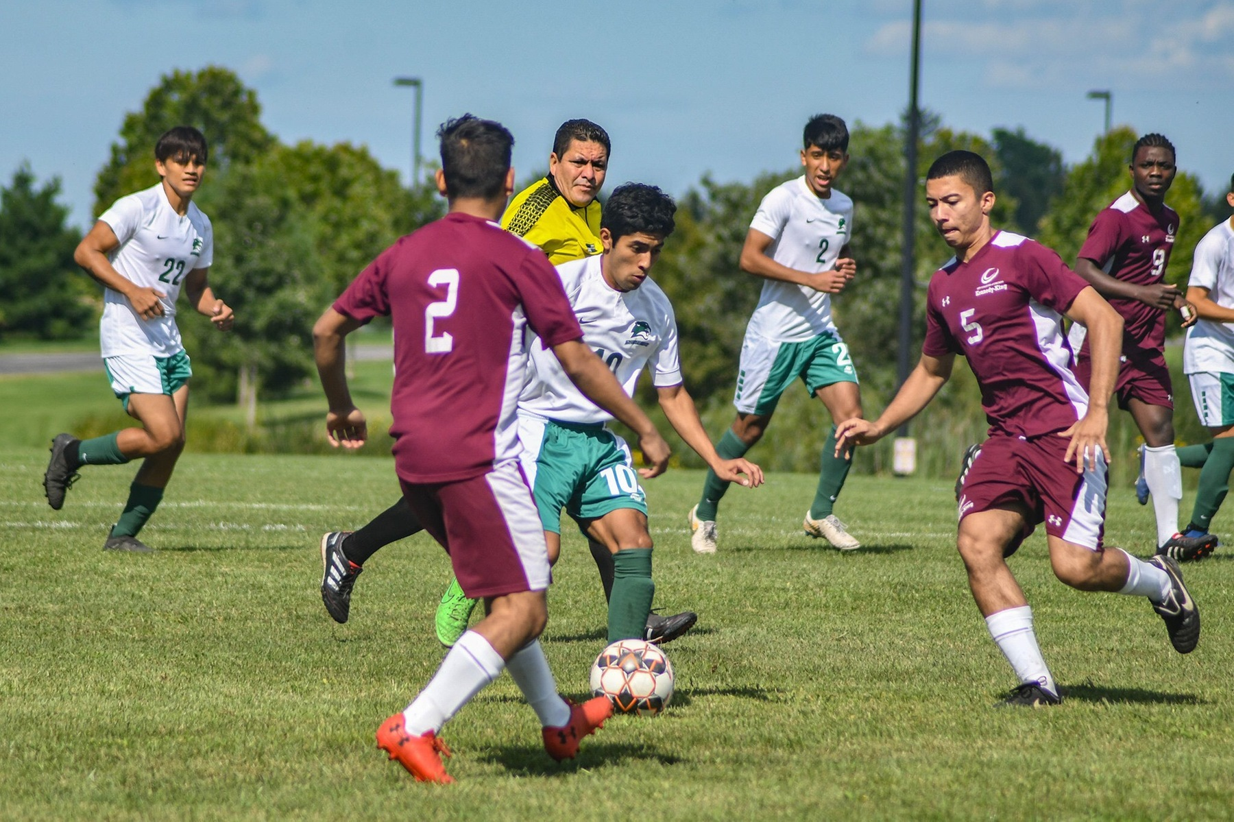 Kish off to a great early season start for Men's Soccer