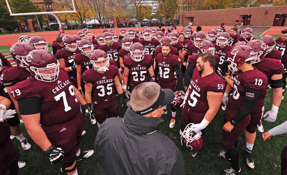 UChicago Football Announces Incoming Class of 2023