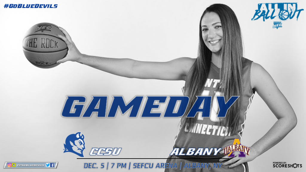 Women's Basketball Back on the Road Against Albany