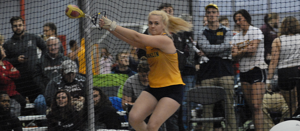 RECAP | Two Throwers, One Distance Runners Hit New Personal Bests at UIndy to Open Indoor Season