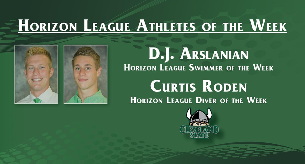Arslanian and Roden Sweep Weekly Honors