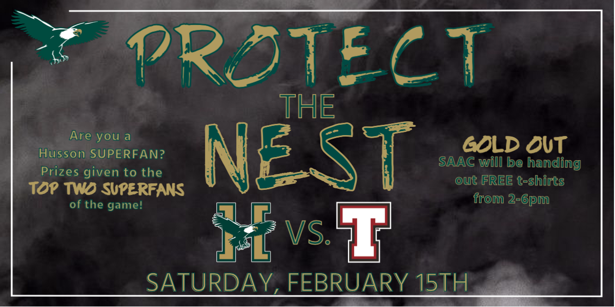 Help the Eagles Protect the Nest on Saturday