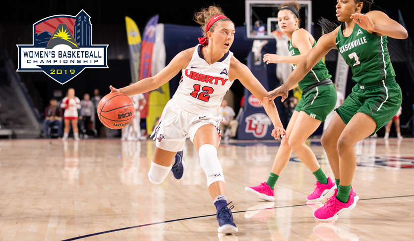Liberty's Fourth Quarter Run Bounces Jacksonville in @ASUNWBB Quarterfinals