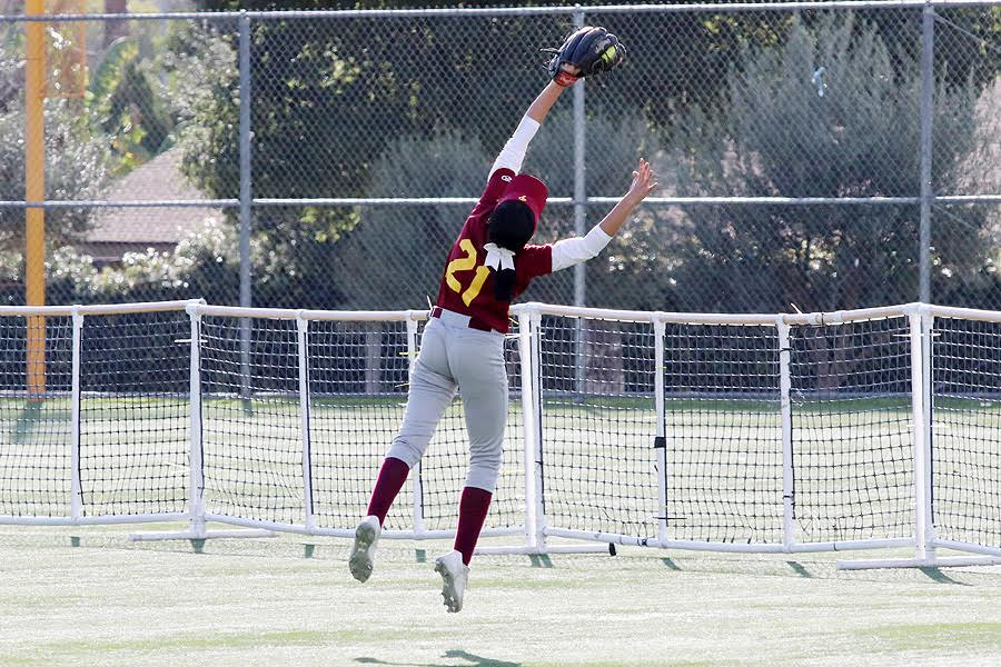 Angel In The Outfield Helps Softball Get Past LBCC, 2-1
