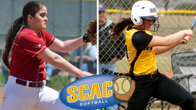 TLU's Jacobsen, Austin College's Hernandez Named SCAC Softball Players of the Week