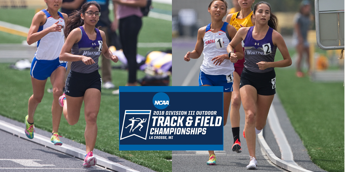 Julissa Tobias and Jessica Iribe Qualify for Div. III National Championships