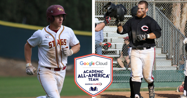Novogradac of CMS and Love of Chapman Named Google Cloud Academic All-Americans in Baseball