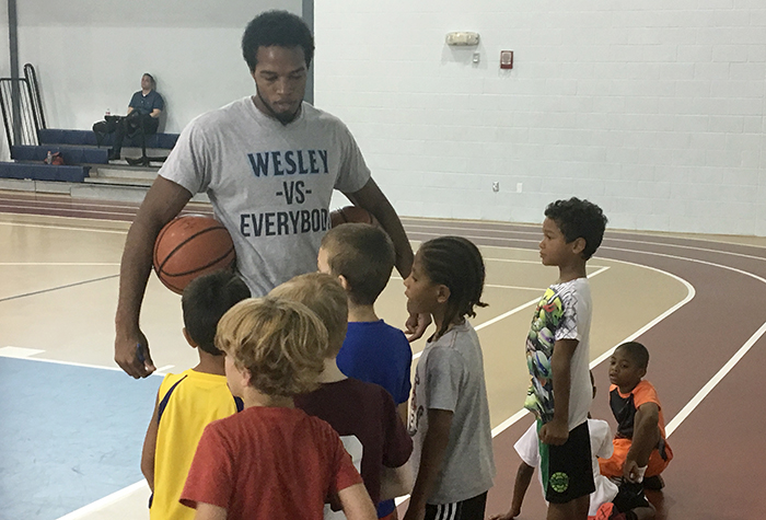 Clemons discusses experiences with community outreach (VIDEO)
