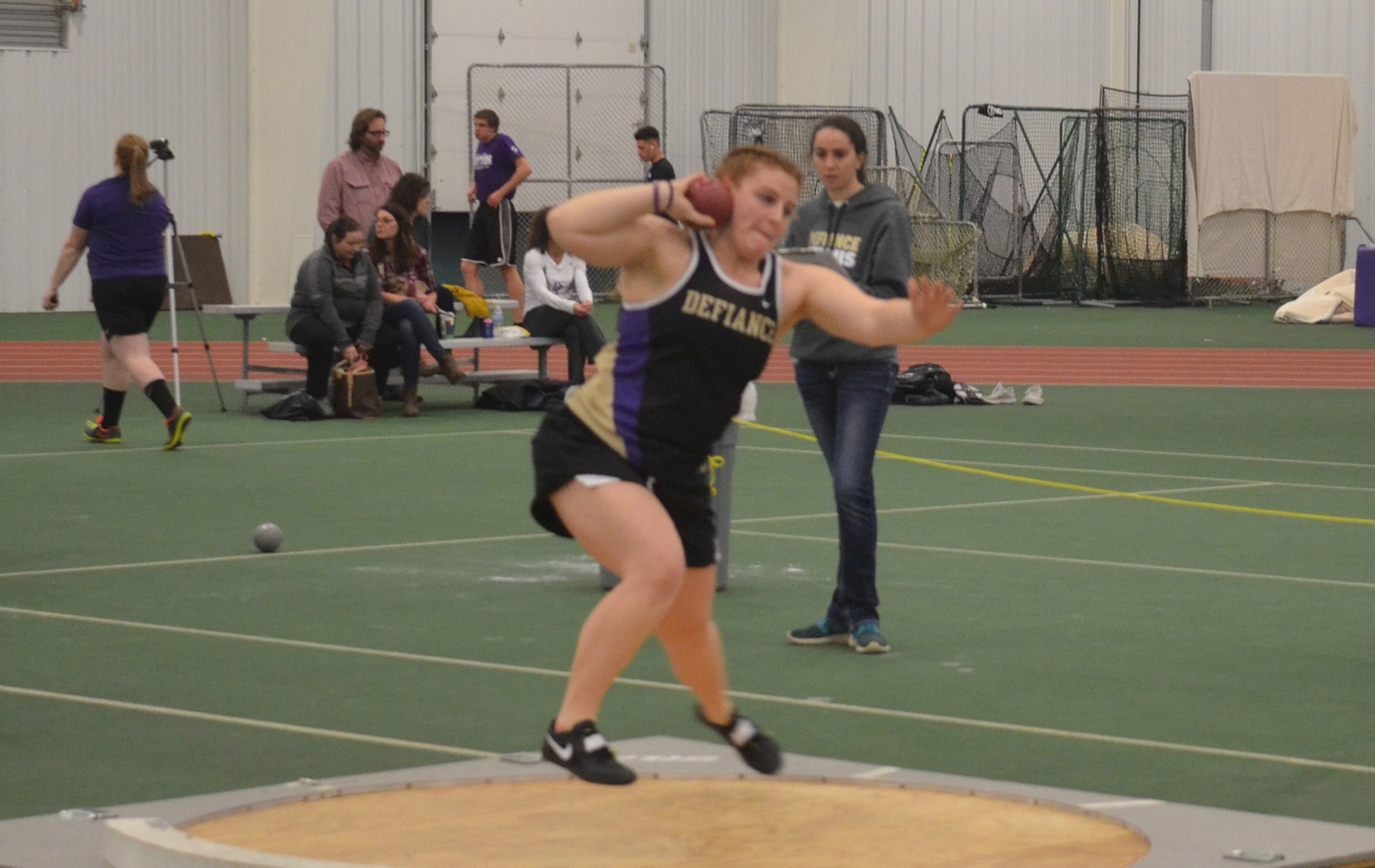 Pair of Throwers Highlight Day One of HCACs
