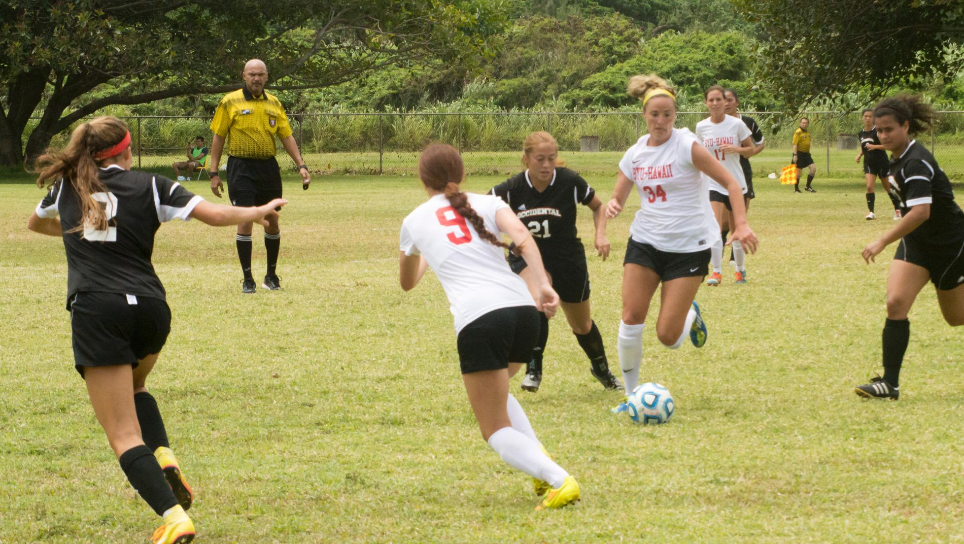 Seasiders meet HPU in non-conference match