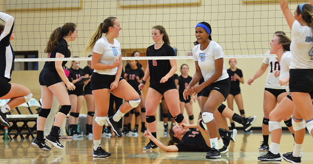 #PomeroyVB Sweeps on Final Day of SMWC Classic