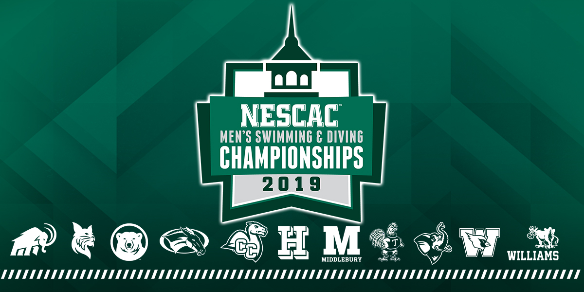 Men's Swimming & Diving Travels to Middlebury for NESCAC Championships This Weekend