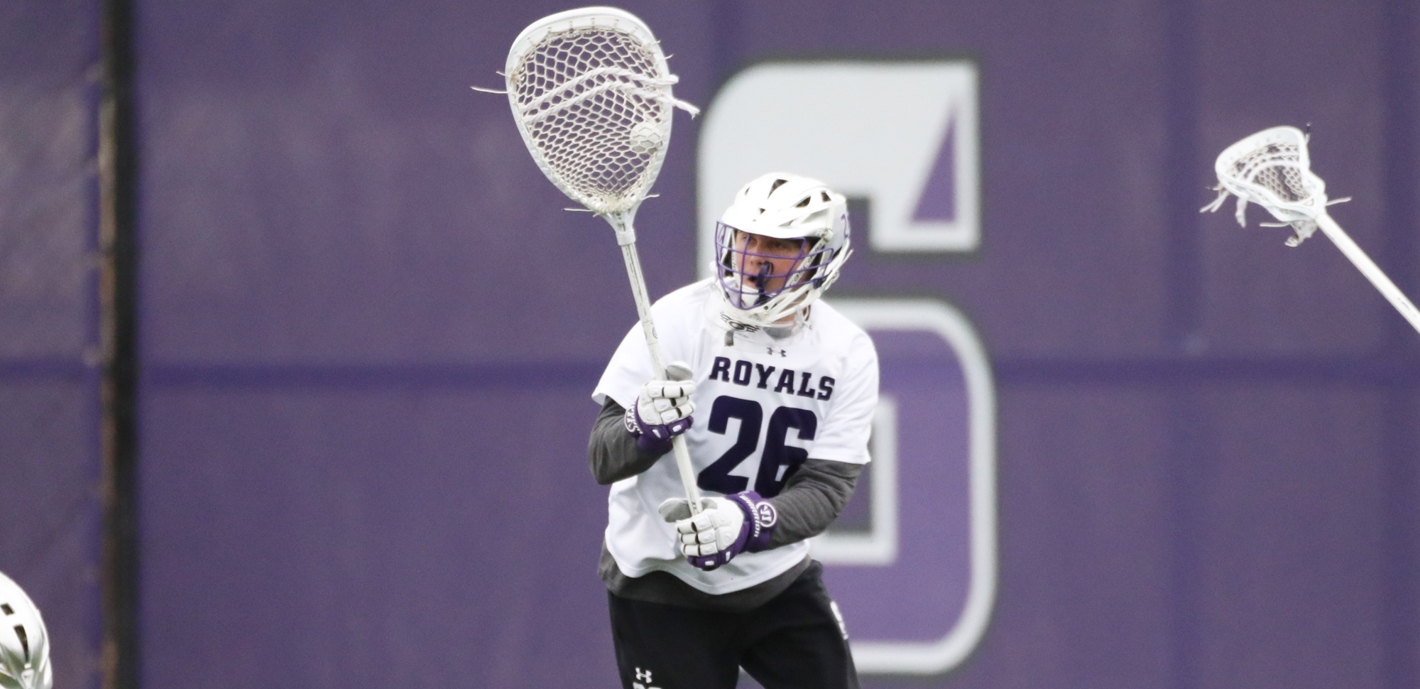 Sophomore Shayne Fallon tied a career-high with 14 saves on Sunday at Sewanee. © Photo by Timothy R. Dougherty / doubleeaglephotography.com