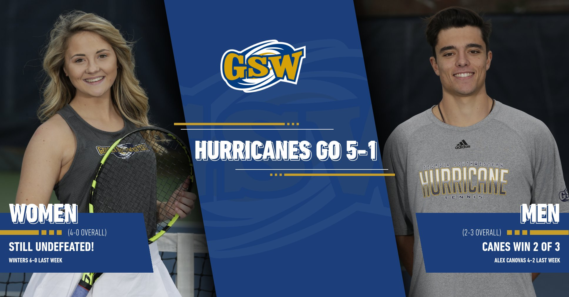 Weekend Recap: Lady Canes Remain Undefeated, Men Win 2 of 3