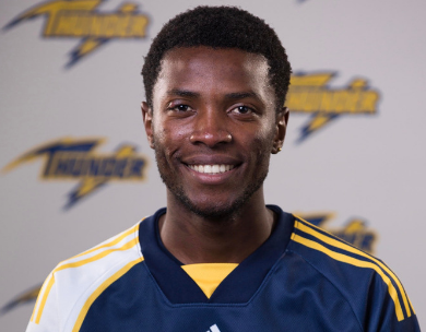 Victor Majome Honoured as 2019-20 ACAC Men's Soccer North Rookie of the Year