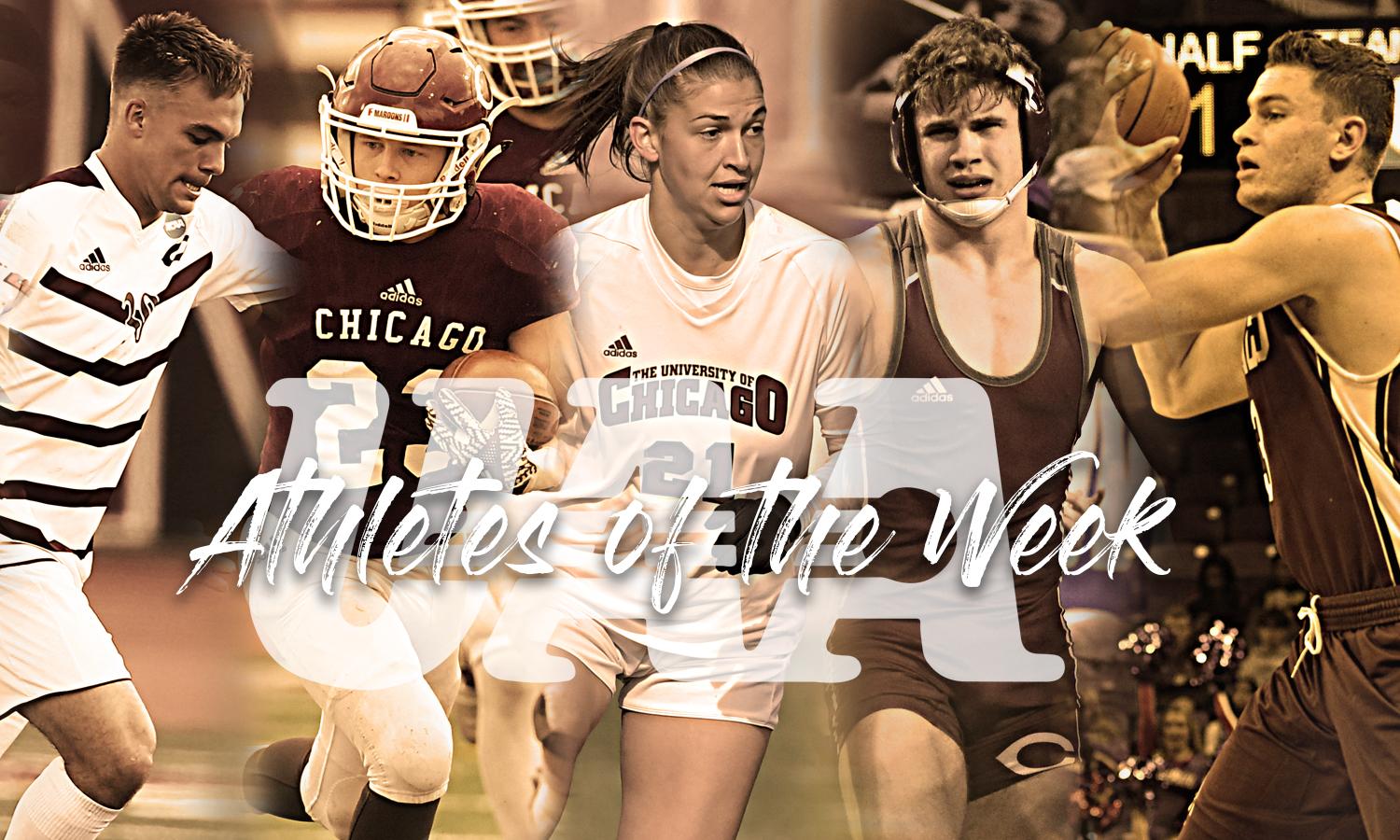 Maroon Quintet Collect Athlete of the Week Honors