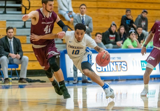 Men's Basketball Tops Westfield State, 77-68