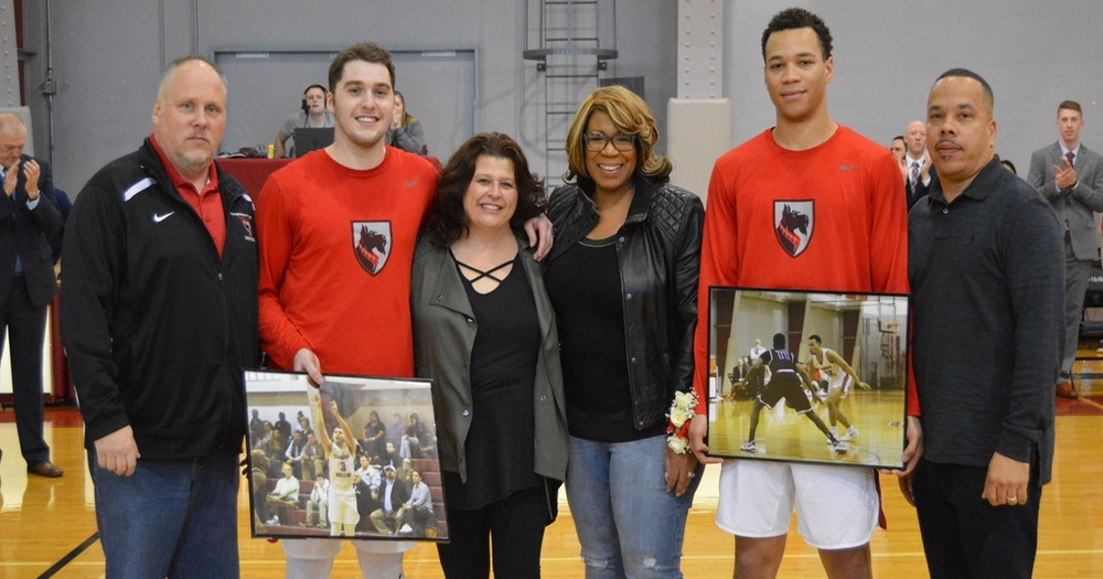 Tartans Send Seniors Off with a 72-63 Win Over Case Western Reserve