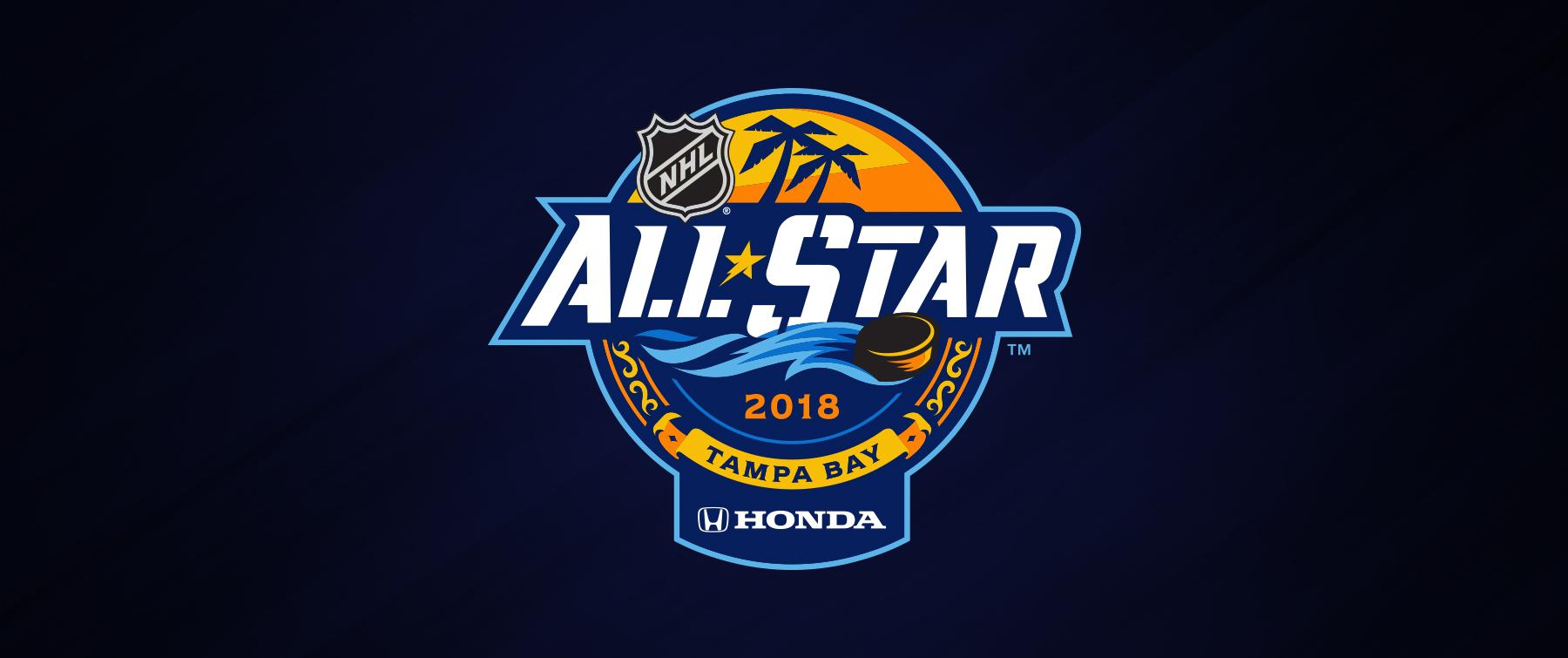 NHL and T&a Bay Lightning unveil 2018 Honda NHL All-Star Game logo & NHL and Tampa Bay Lightning unveil 2018 Honda NHL All-Star Game ... azcodes.com