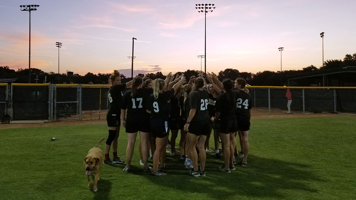 Coyote softball preps for fall schedule