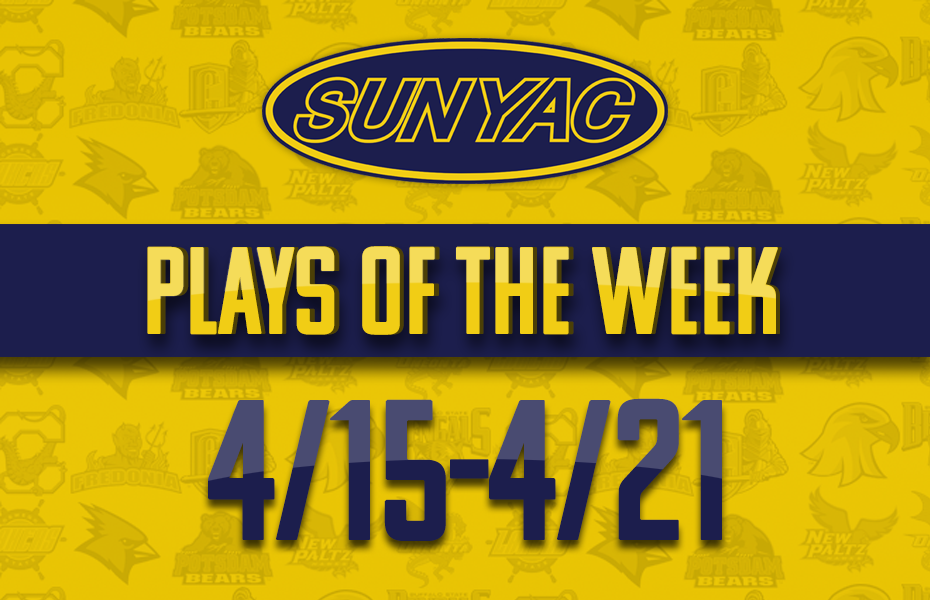 SUNYAC Spring Plays of the Week - April 15-21