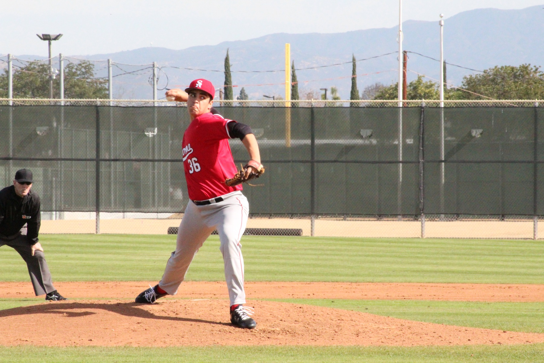 Santa Ana Throws No-Hitter in Season Opener