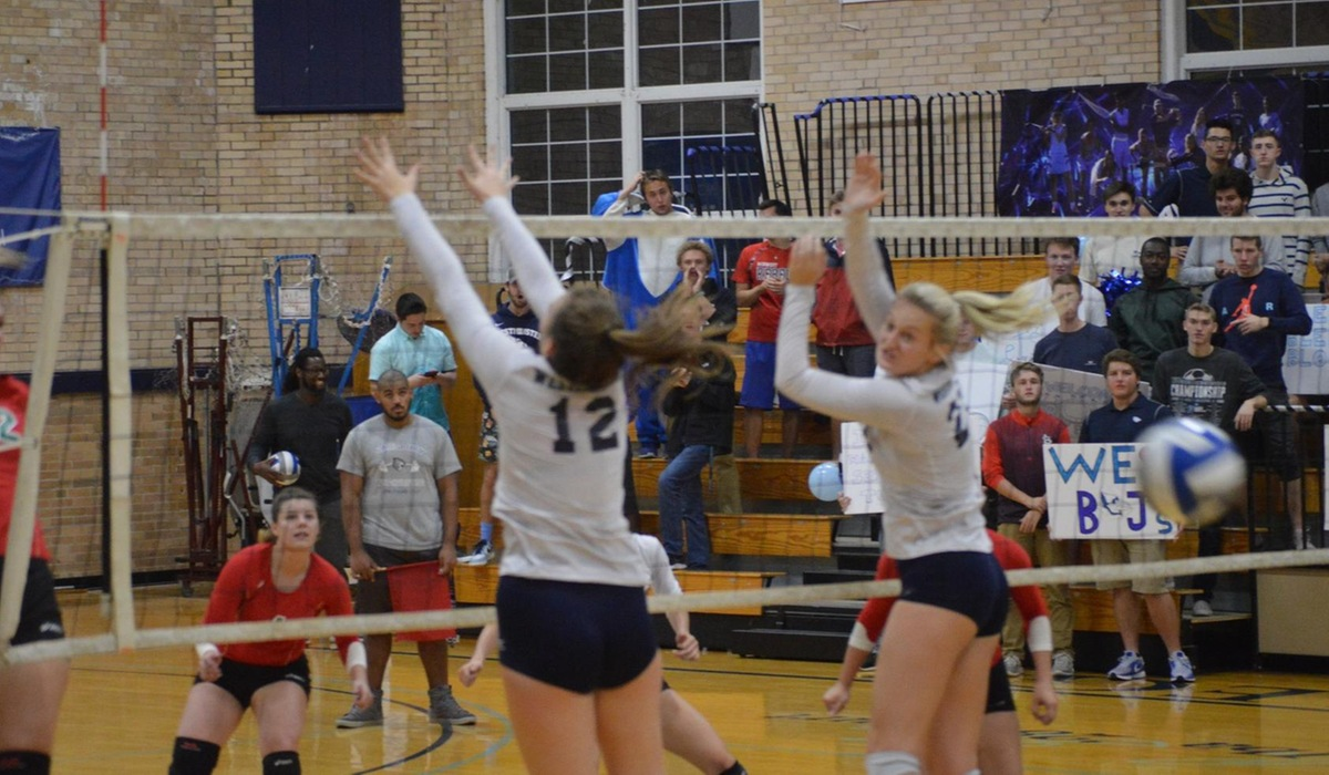 Westminster Volleyball Clinches Spot in SLIAC Tournament
