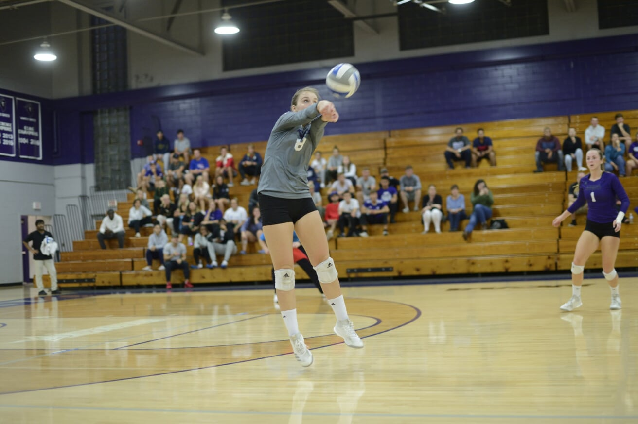 Purple Knights Punch Ticket To 2018 ECC Volleyball Championship Tournament With Sweep Over Roberts Wesleyan