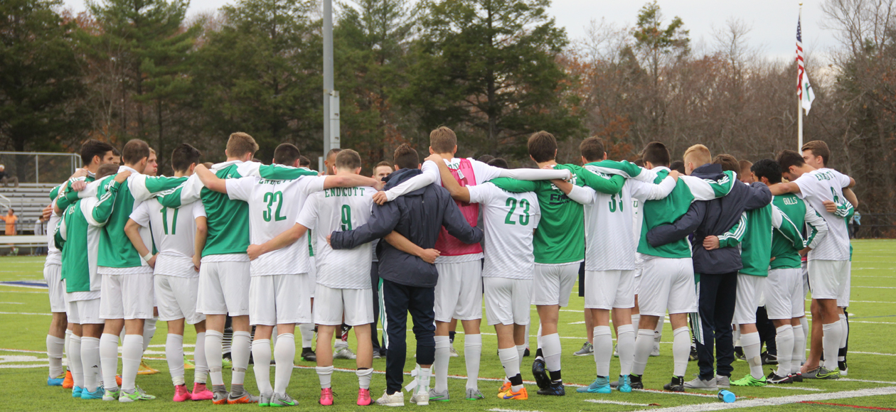 Gordon Upsets Endicott, 2-0, In 2015 CCC Men's Soccer Championship