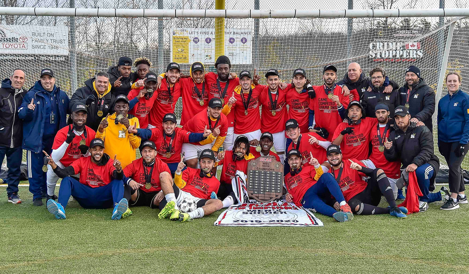 The Dynasty Continues: Men's Soccer Wins 2019 OCAA Championship