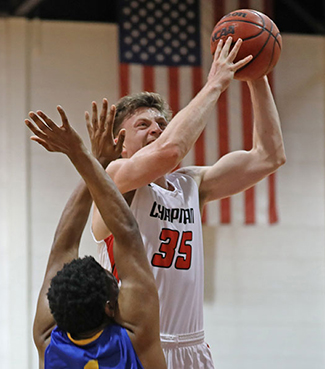 Chandler White, Chapman, Men's Basketball Defensive Athlete of the Week