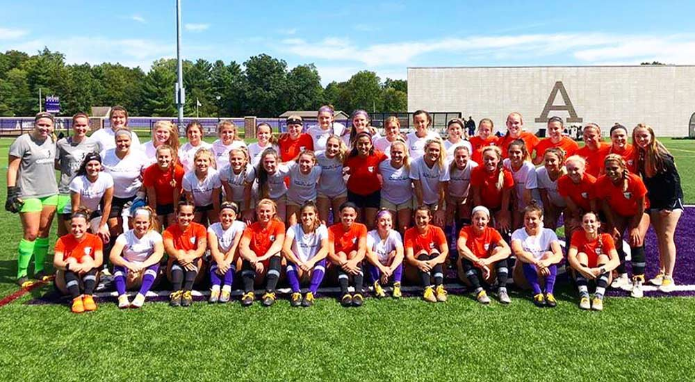 Women's soccer stopped by Albion