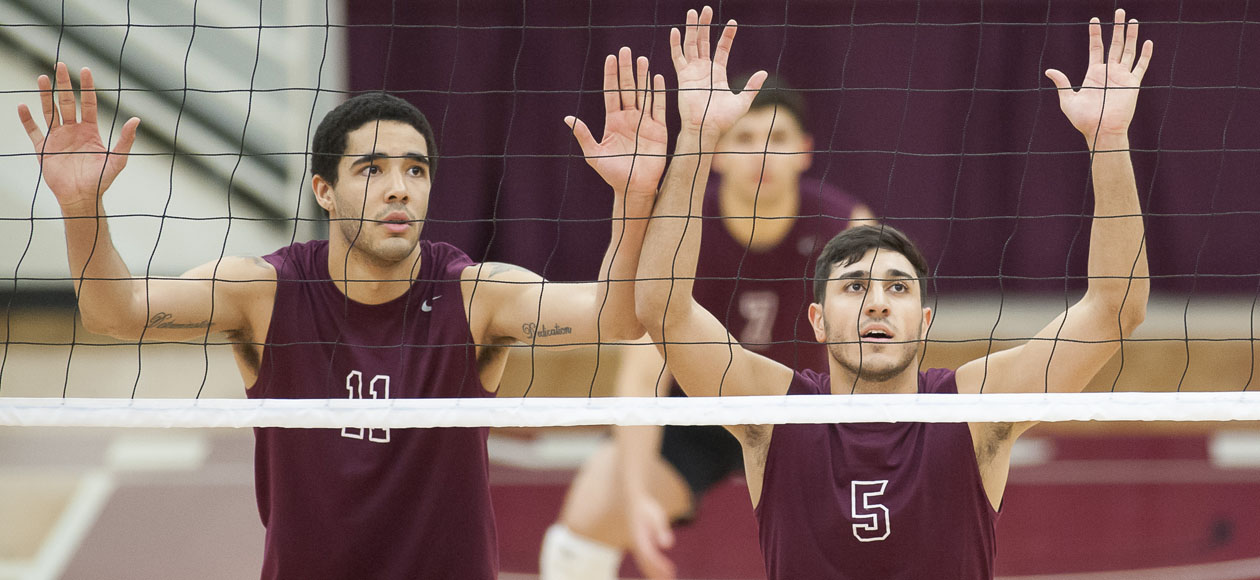 Men's Volleyball Rallies For Five-Set Win At Division I NJIT