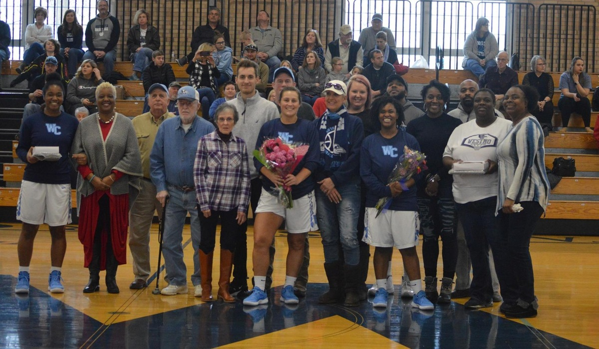 Westminster Women's Basketball Marks Win on Senior Day
