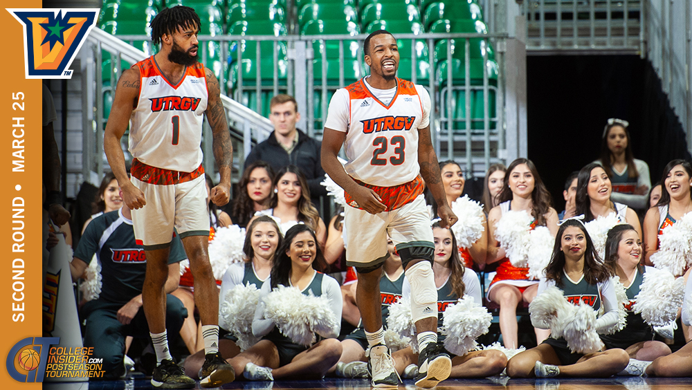 UTRGV Season Ends in CIT Second Round
