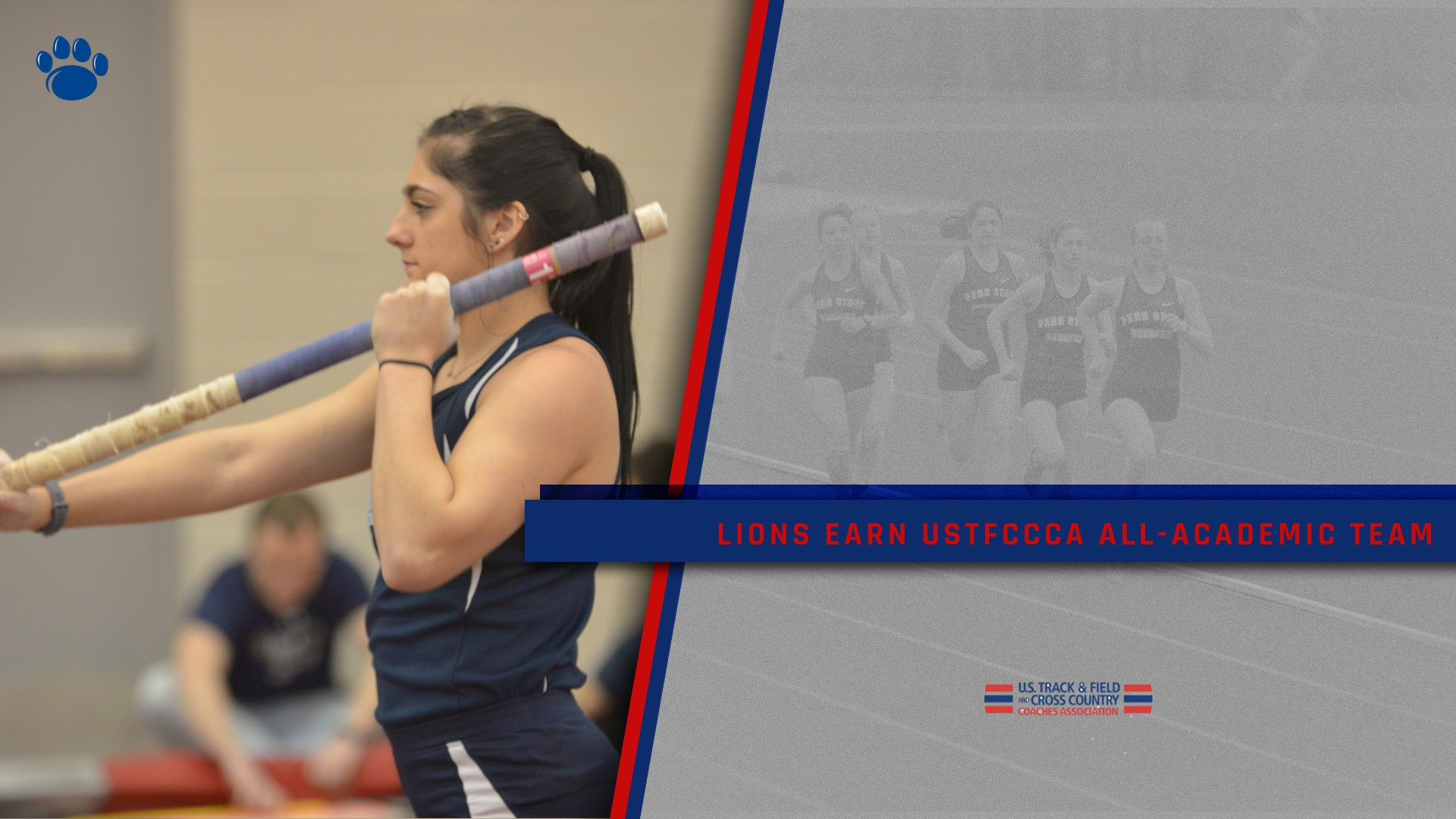 Lions Earn USTFCCCA All-Academic Honors