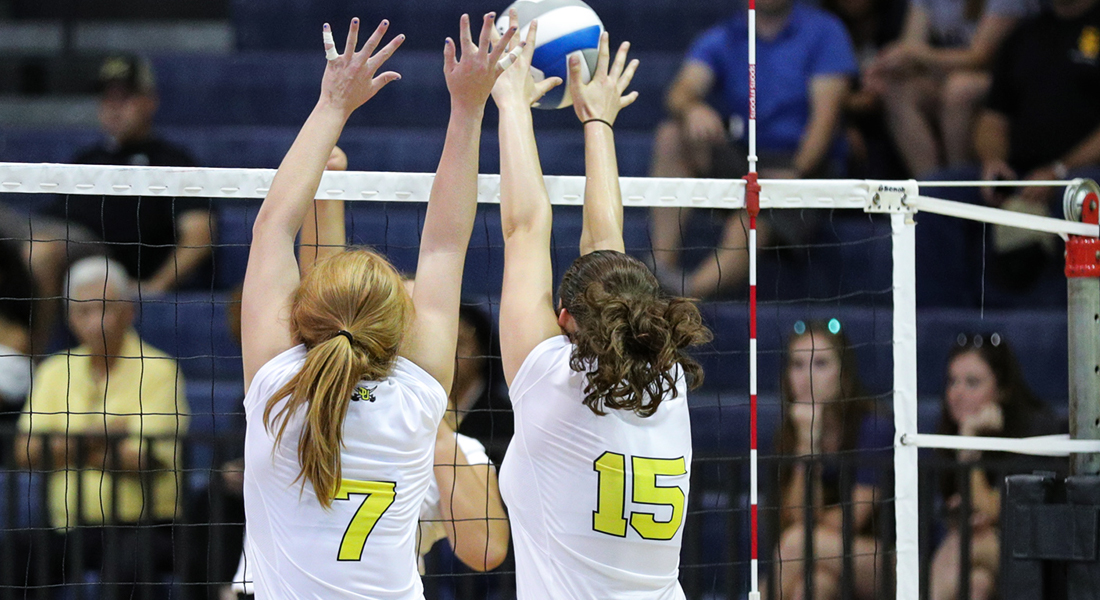 Exciting Five-Setter Over TLU In Pair of Southwestern Volleyball Wins