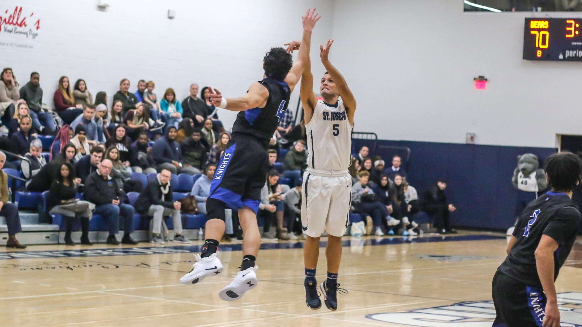 Five Players in Double-Figures Leads Men's Basketball to Thrilling Overtime Victory Over Mount Saint Mary
