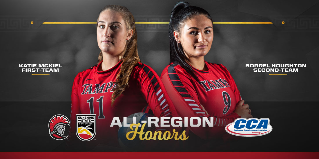 McKiel and Houghton Named to All-Region Teams
