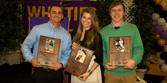 Athletics cap off 2011-12 with Purple & Gold All-Sports Awards Banquet