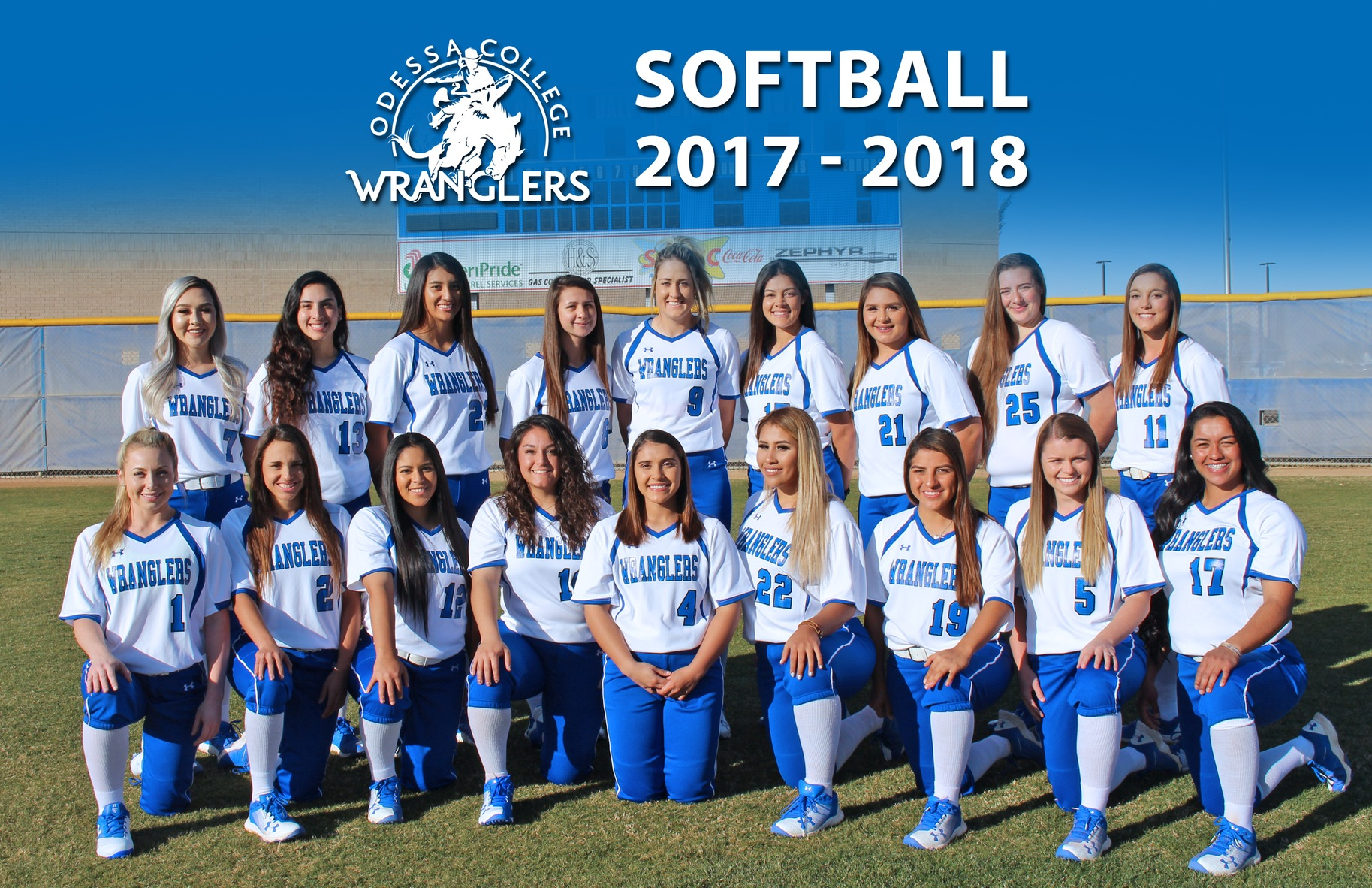 Lady Wranglers Receive WJCAC Honors
