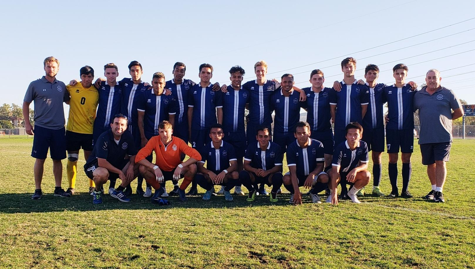 Men's soccer team wins its way into the regional playoffs