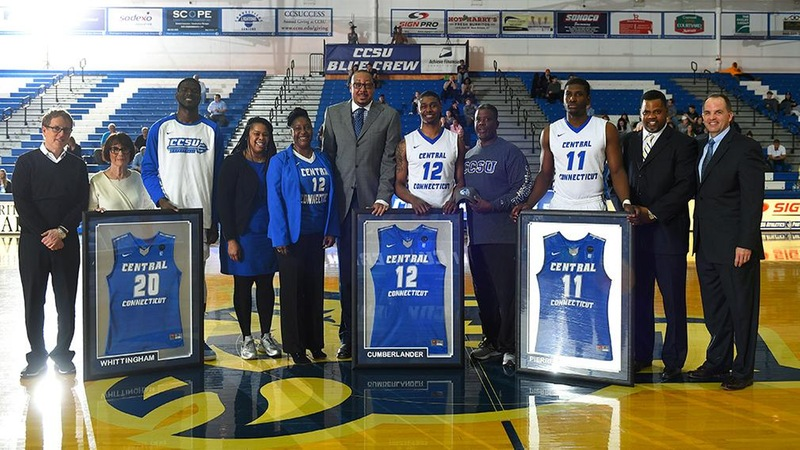 Men's Basketball Wins on Senior Night, Downs St. Francis Brooklyn, 62-53