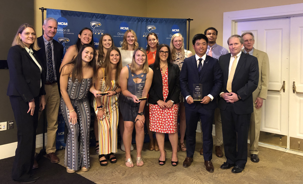 Emory Athletics Announces 2018-19 Award Winners
