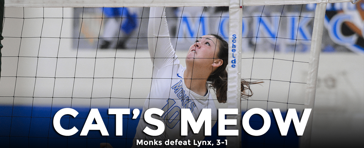 Monks Defeat Lynx, 3-1