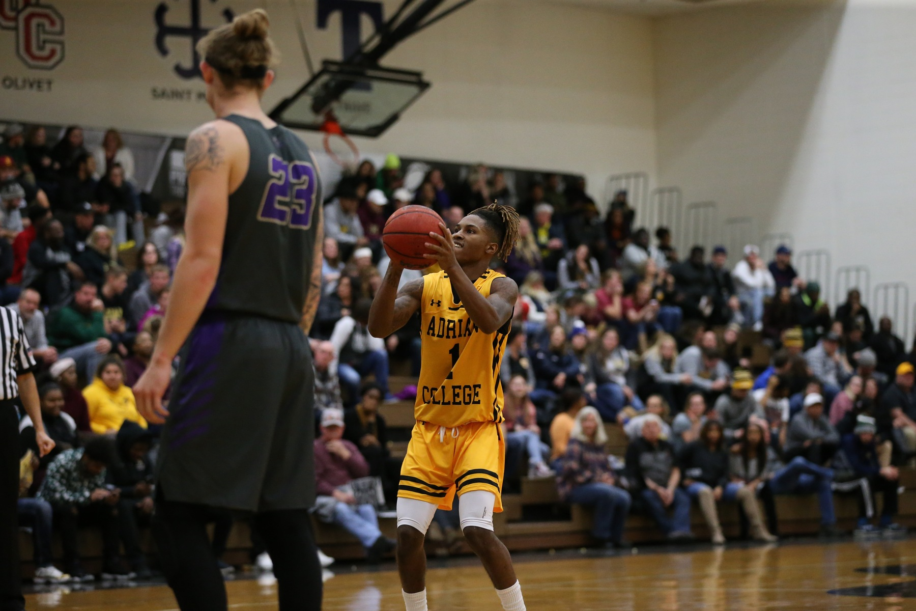 Foul Trouble Hurts Men's Basketball in Overtime Loss