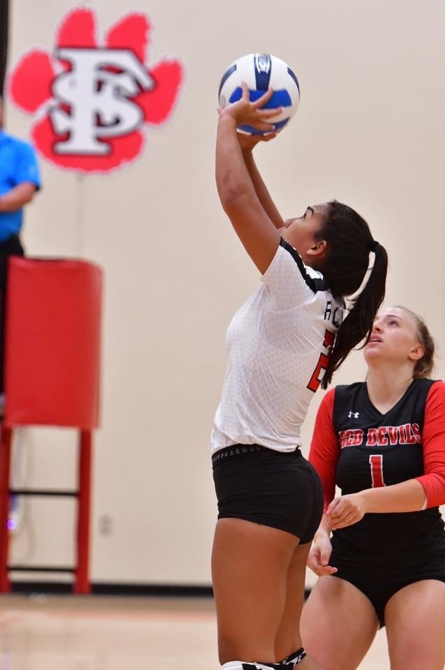 Allen Volleyball Gets Region Win