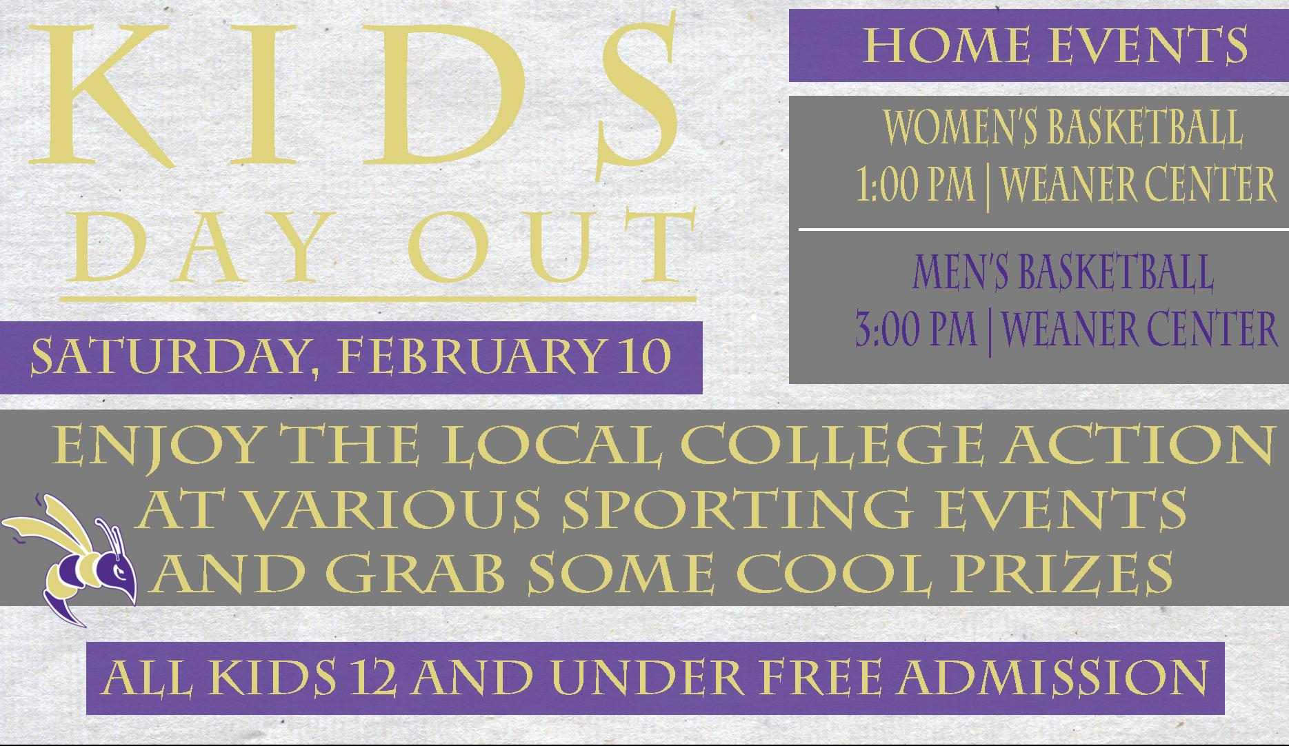 "DC SAAC To Host ""Take A Kid to the Game"" Day Saturday, February 10"
