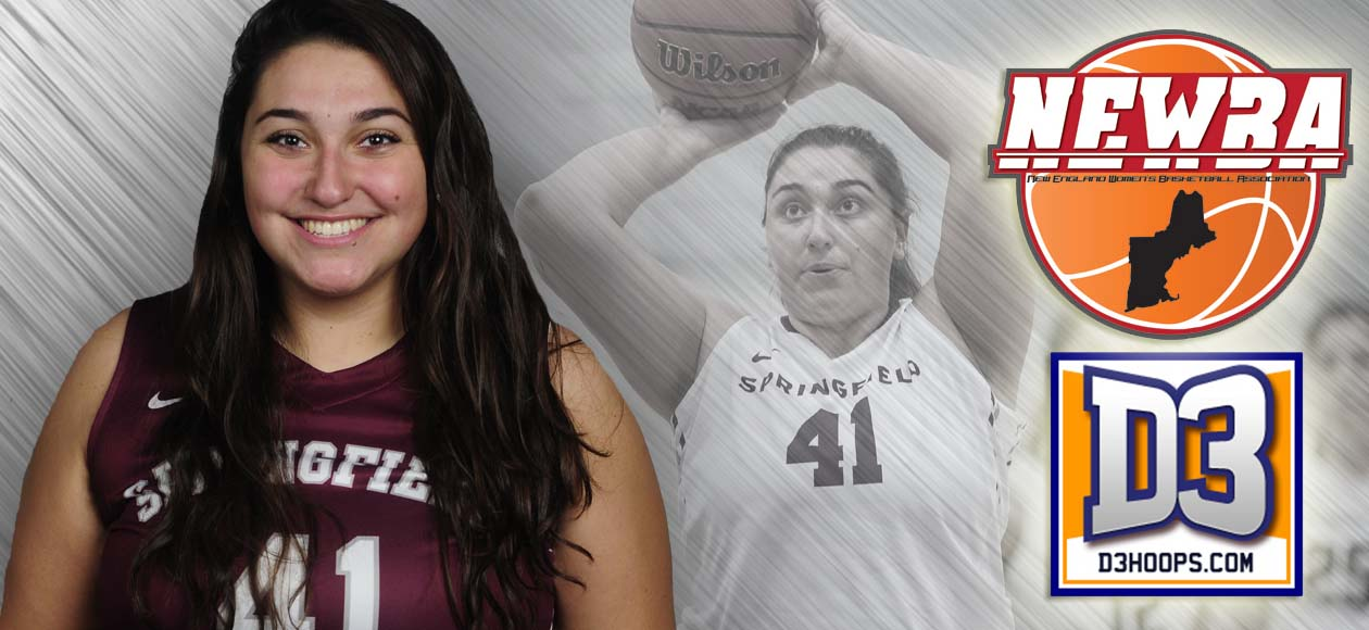 Adamopoulos Earns D3Hoops.com All-Region Honors; Selected to Play in NEWBA Senior All-Star Game