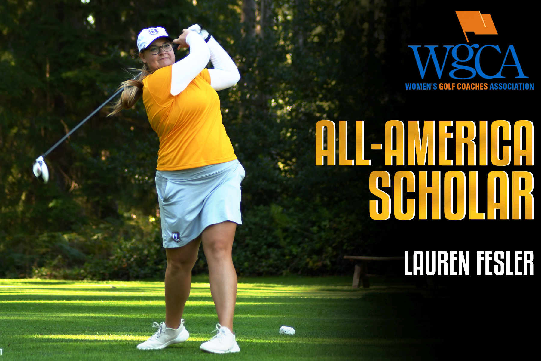 Fesler Earns All-American Scholar for Second Consecutive Year